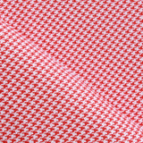 Dogtooth Cotton Printed Poplin