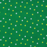 Polka Dot, Premium Printed Quilting Quality Cotton Green