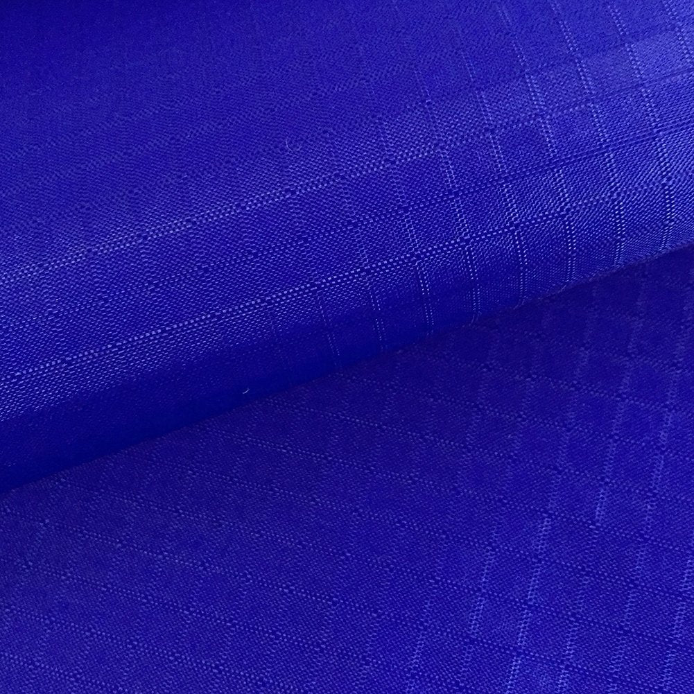 Blue Rip Stop Tear Resistant Fabric 150cm Wide 2oz 100% Polyester