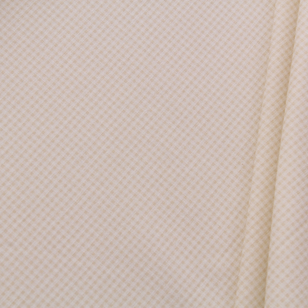 TFG Quilting Cotton, Basic Essentials, Gold Checks