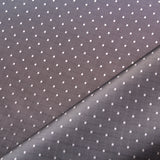 Jacquard Dots Grey