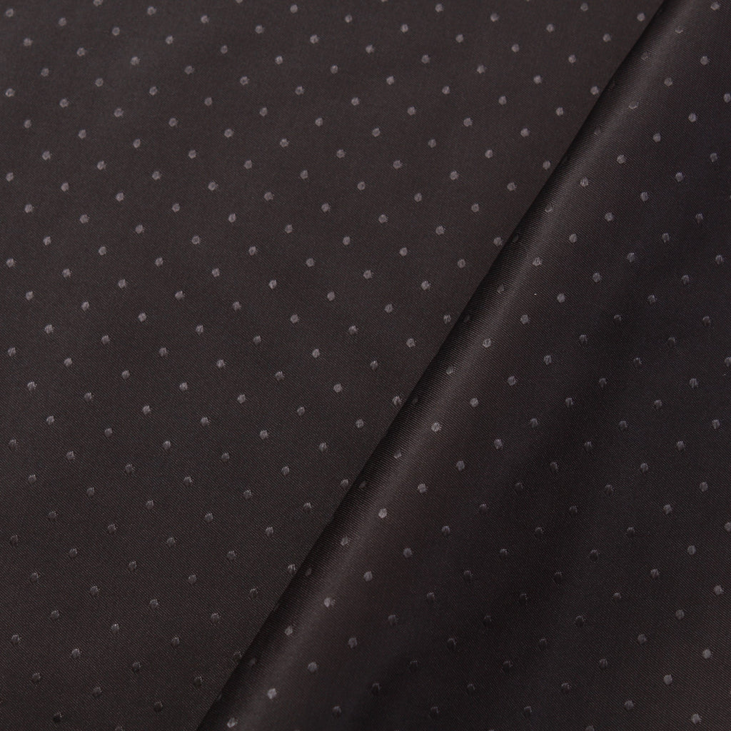 Jacquard Dots Black