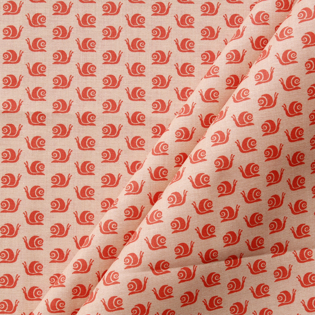 Snail Trail Beige, Premium Printed Quilting Quality Cotton