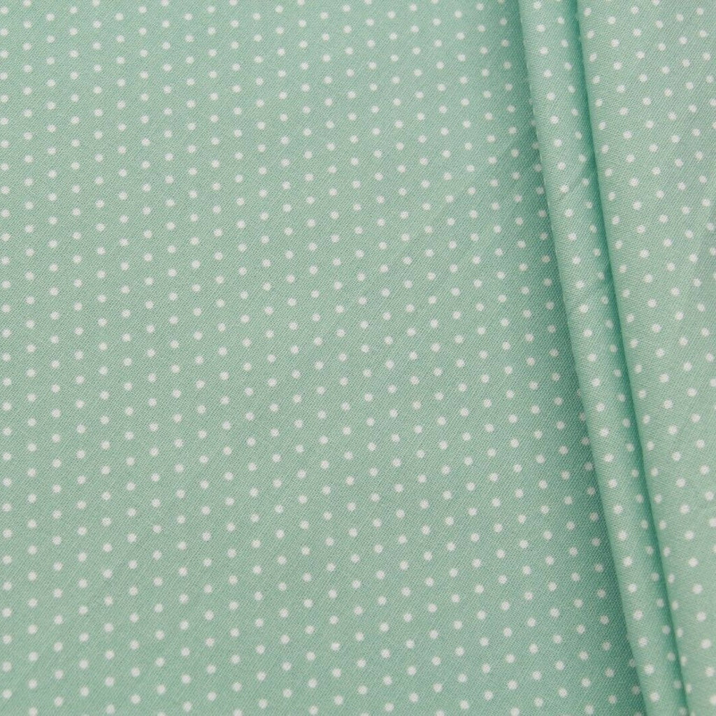 "TFG Quilting Cotton, Basic Essentials, Green, Approx. 44"" (112cm) Wide"