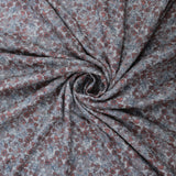 "Tapestry Fabric 'Owls and Leaves' 60"" Wide"