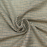 3FOR15 Polyviscose Houndstooth Fabric