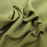 5FOR5 Crinkle Crepe Olive Green 60""