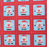 Premium Printed Christmas Polycotton Jolly Santa
