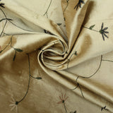 "Poly Dupion Silk Feel - 'Dull Gold' 44"" Wide"