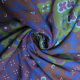 "3FOR5 Georgette Fabric 'Funky Floral Print' 60"" Wide"