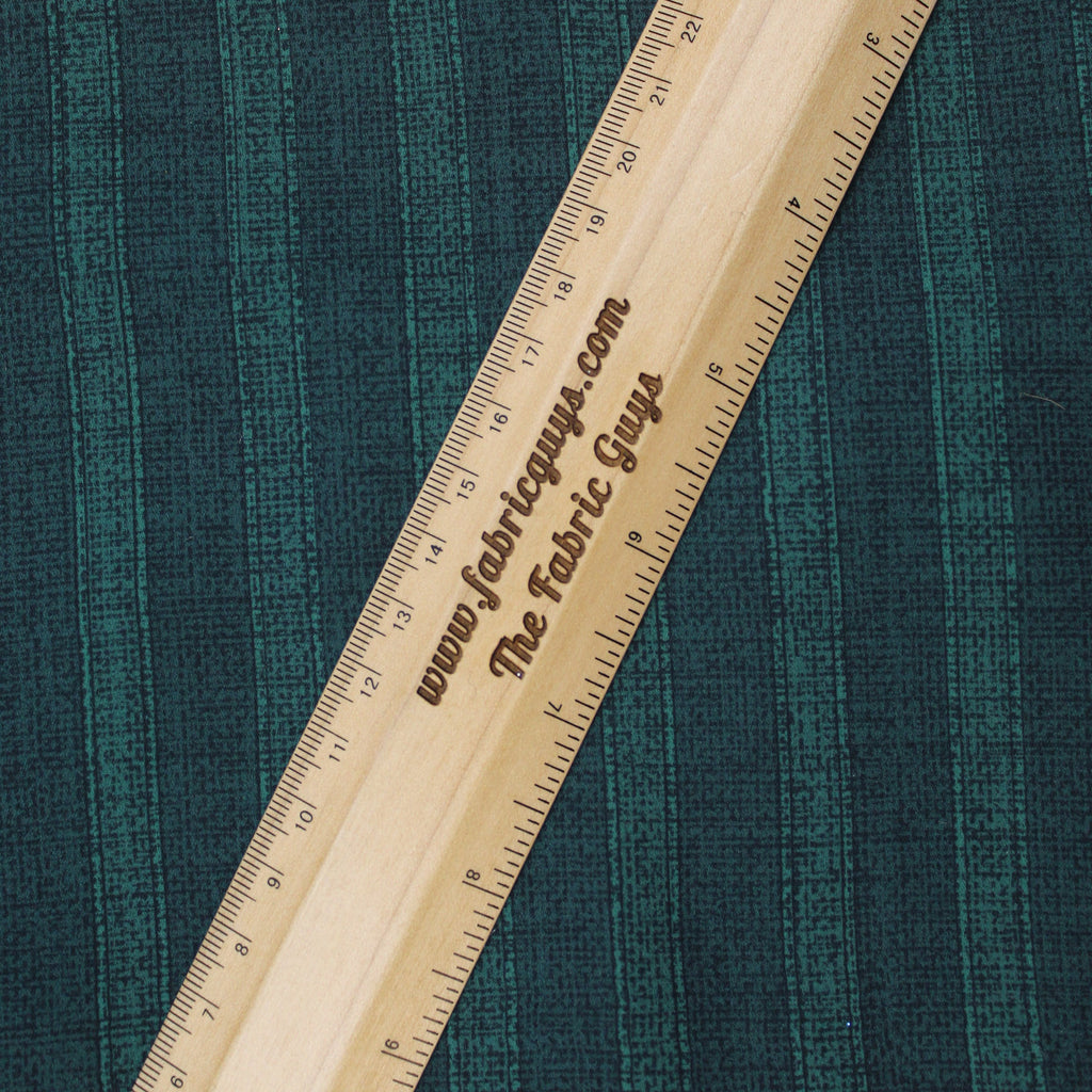 "3FOR5 Georgette Fabric 'Green Stripes' 60"" Wide"