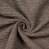 3FOR10 Grey Poly Wool Ribbed Effect Fabric