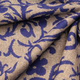 3FOR10 Poly Wool Floral Print Fabric
