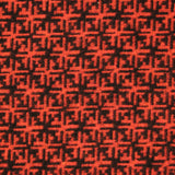 3FOR10 Poly Wool Aztec Print Fabric