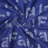 "Blue Christmas - Brushed Cotton - 44"" Wide"