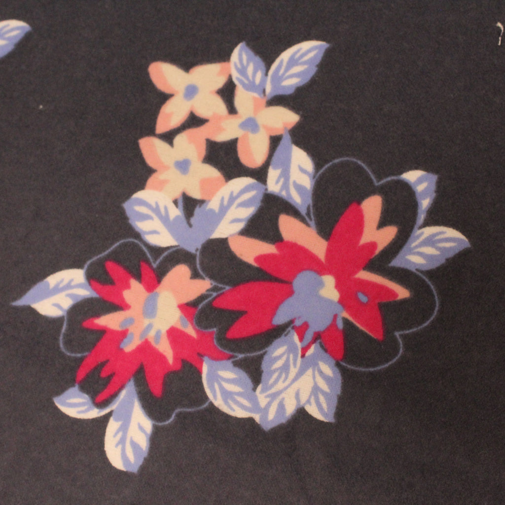 "Flower Power - Brushed Cotton - 44"" Wide"