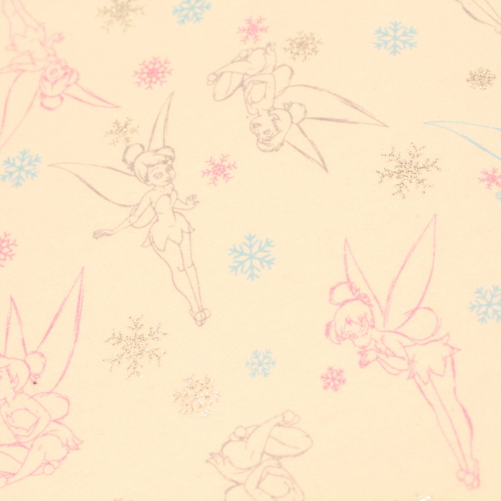"Tinkerbell - Brushed Cotton - 44"" Wide"