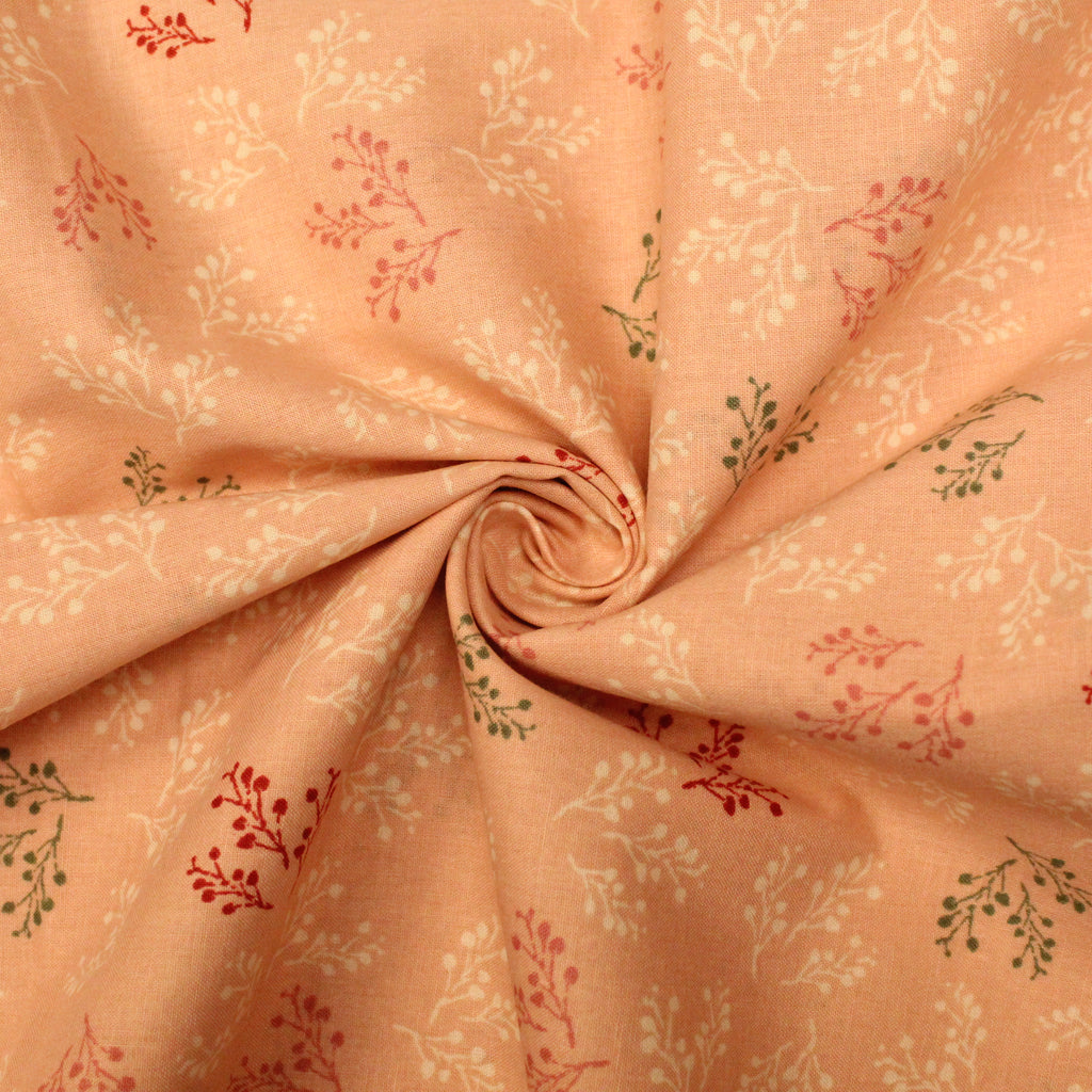"100% Cotton Poplin -Blooming Floral - 44"" Wide"