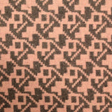 3FOR10 Poly Wool Aztec Shapes Print Fabric