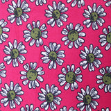 "3FOR10 Cotton Poplin 'Hot Pink' 44"" Wide"