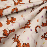"100% Quilting Cotton - Tigger Fun- 44"" Wide"