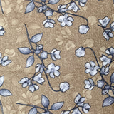 "3FOR10 Cotton Poplin 'Floral Vines' 44"" Wide"