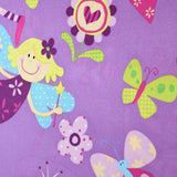 "Premium Printed Polycotton, Fairy Garden, 60"" wide"