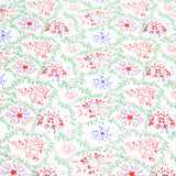 "100% Cotton, Christmas Snowflakes - 44"" wide"