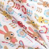 "Soft Polycotton Fabric - 'Bunny' - 44"" Wide"