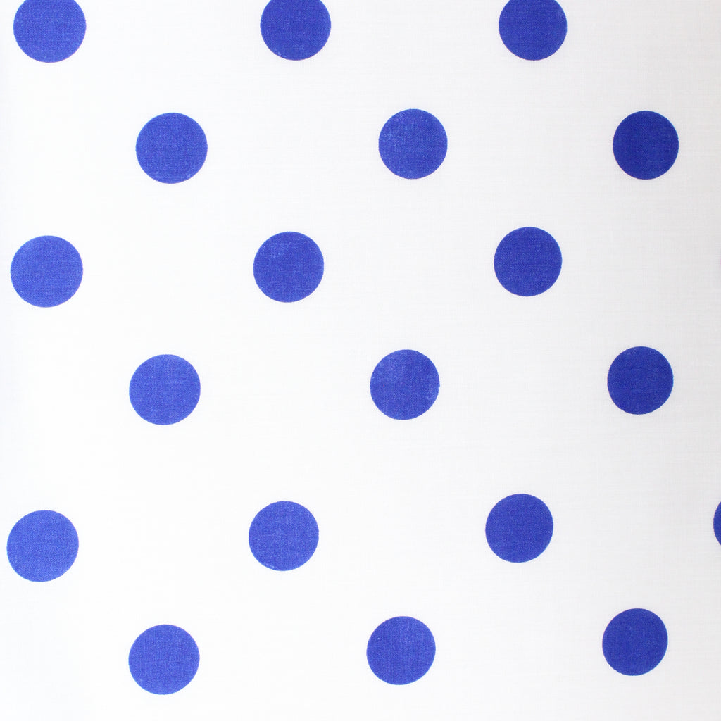 "Soft Polycotton Fabric - 'Polka Dots- 44"" Wide"