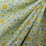 "Soft Polycotton Fabric - 'Ditsy' Floral- 44"" Wide"