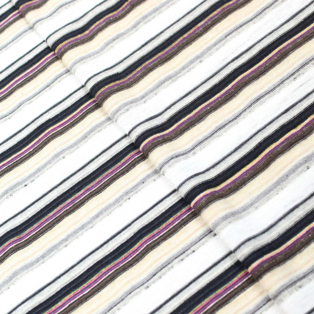 "Cotton Blend Jersey 'Striped' - 60"" Wide"