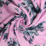 3FOR5 American Crepe Fabric 'Pink Gradient'