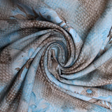 3FOR5 American Crepe Fabric 'Blue Gradient'