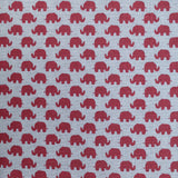 "SPECIAL OFFER! 100% Premium Cotton 'Elephants'  44"" Wide"