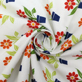 "100% Cotton 'Flower Pots' 44"" Wide"
