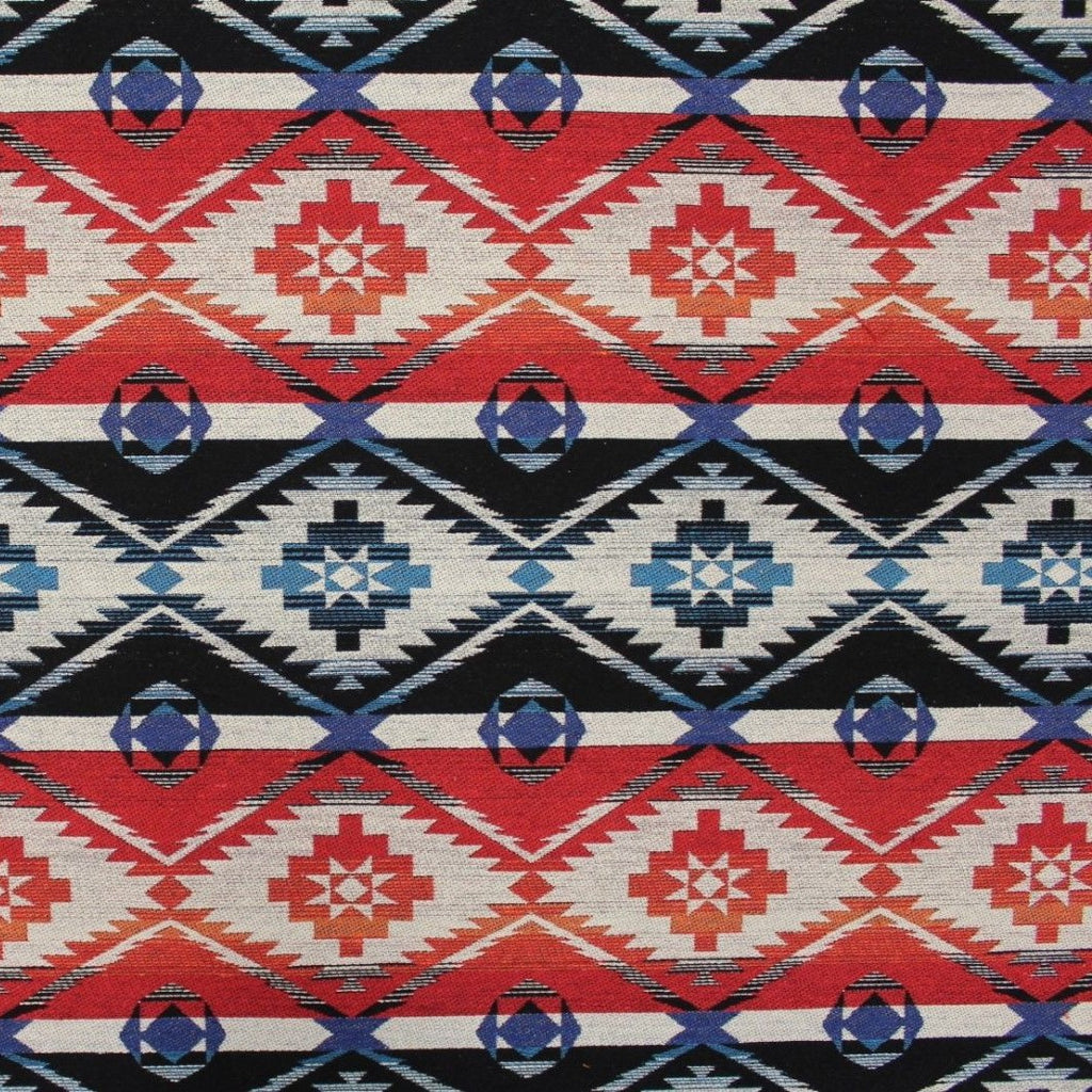 Luxury Printed Tapestry Fabric Aztec