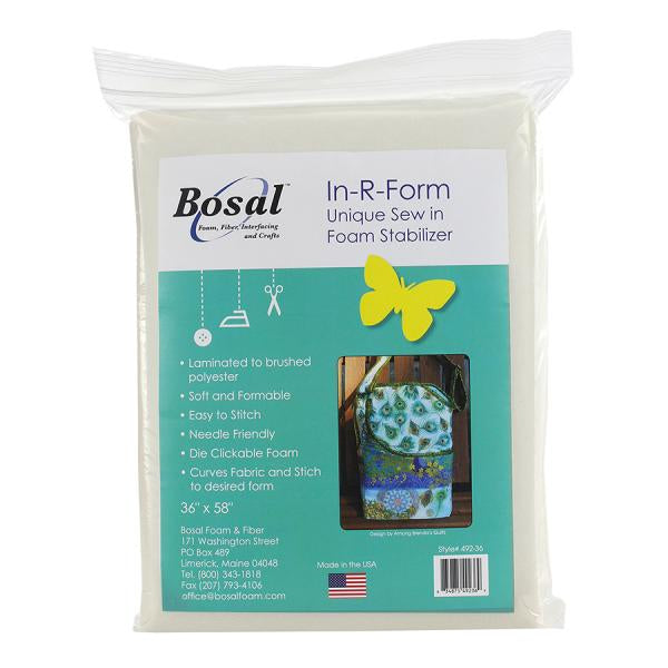 "Bosal In-R-Form Plus Sew In Stabilizer 36"" x 58"""