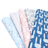 Bunny Love - Easter Fabric Bundle - 5x0.5m