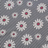 Small Check Pink Daisy Gingham Poplin