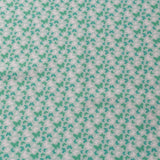 TFG Turquoise Quilting Cotton, Butterflies, Springtime Floral Collection FF400.2