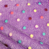 "Supersoft Dots Cuddle Fleece, Approx. 60"" (150cm) Wide"