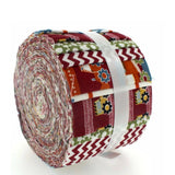100% Cotton Baby Rolls, Red, Construction