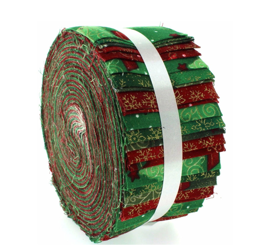 100% Cotton Baby Rolls, Green, Under The Christmas Tree
