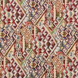 "Luxury Printed Tapestry Fabric Killim Multi, Approx. 60"" (150cm) Wide"