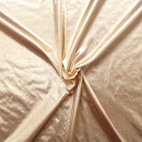 Plain Lame Fabric Gold, Nylon 49% Metallic 51%