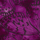 Cerise Premium 100% Cotton Melody With Butterfly Printing.