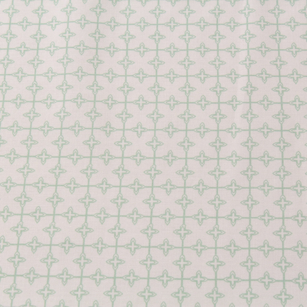 TFG Light Green Quilting Cotton, Geometric, Mexicola FF405.2