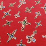 Peachskin Crosses, 100% Polyester