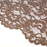 Raschel Corded Lace Light Brown